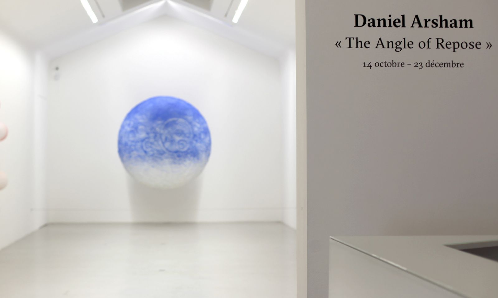 Expo Solo Show: Daniel ARSHAM «The Angle of Repose»