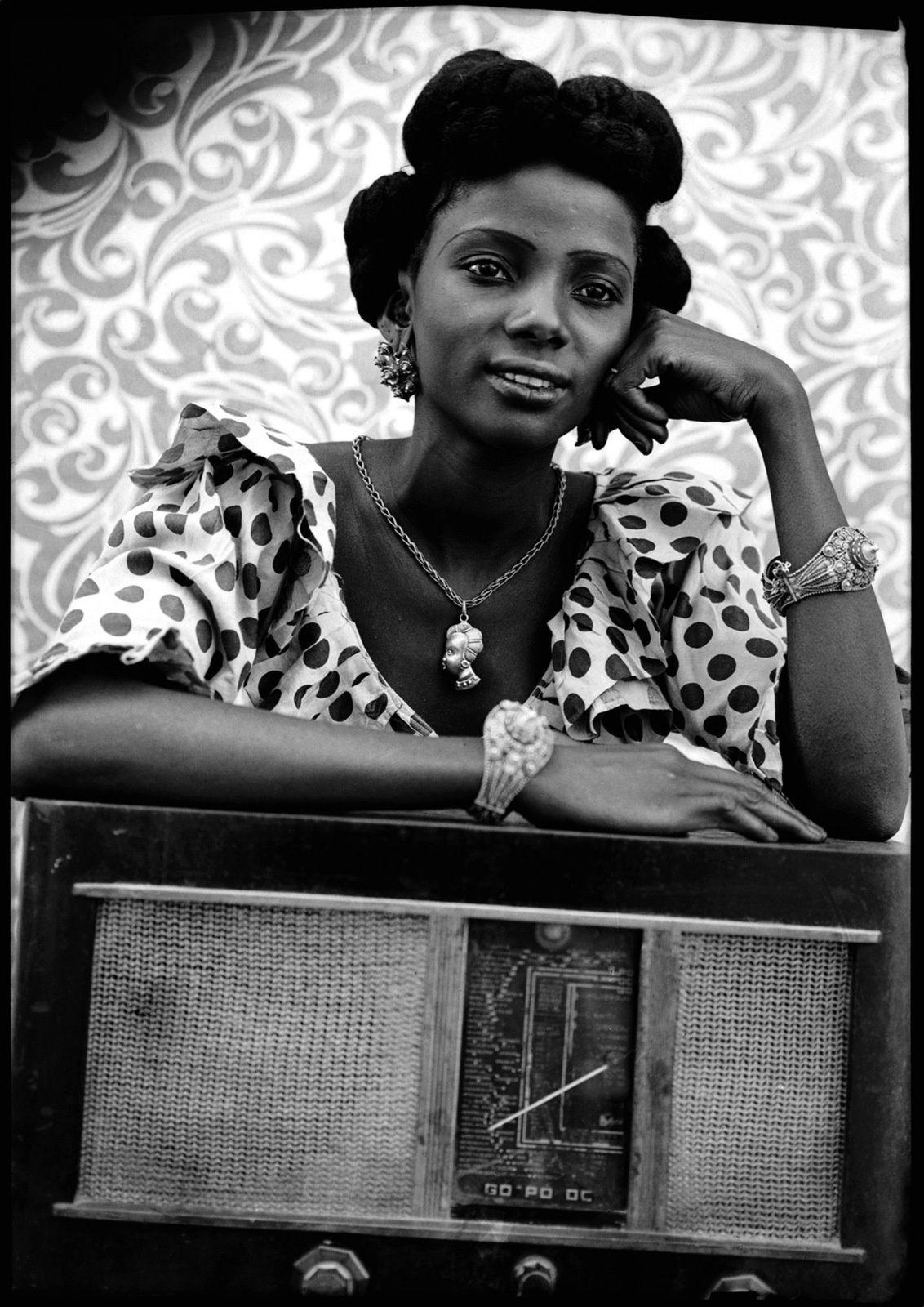 """""""Sans titre"""", 1948-1954 de Seydou KEÏTA - Courtesy Nathalie OBADIA © Photo Éric Simon"""