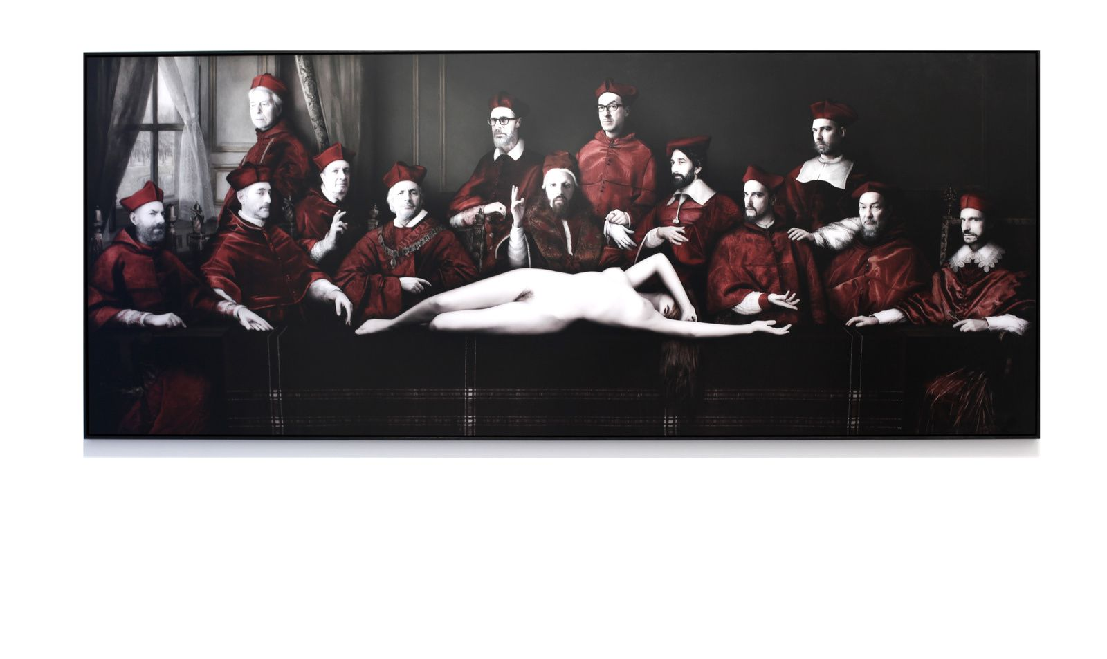 """""""CARDINAL LAST SUPPER"""", 2015 de Sabine PIGALLE - Courtesy Galerie RX © Photo Éric Simon"""