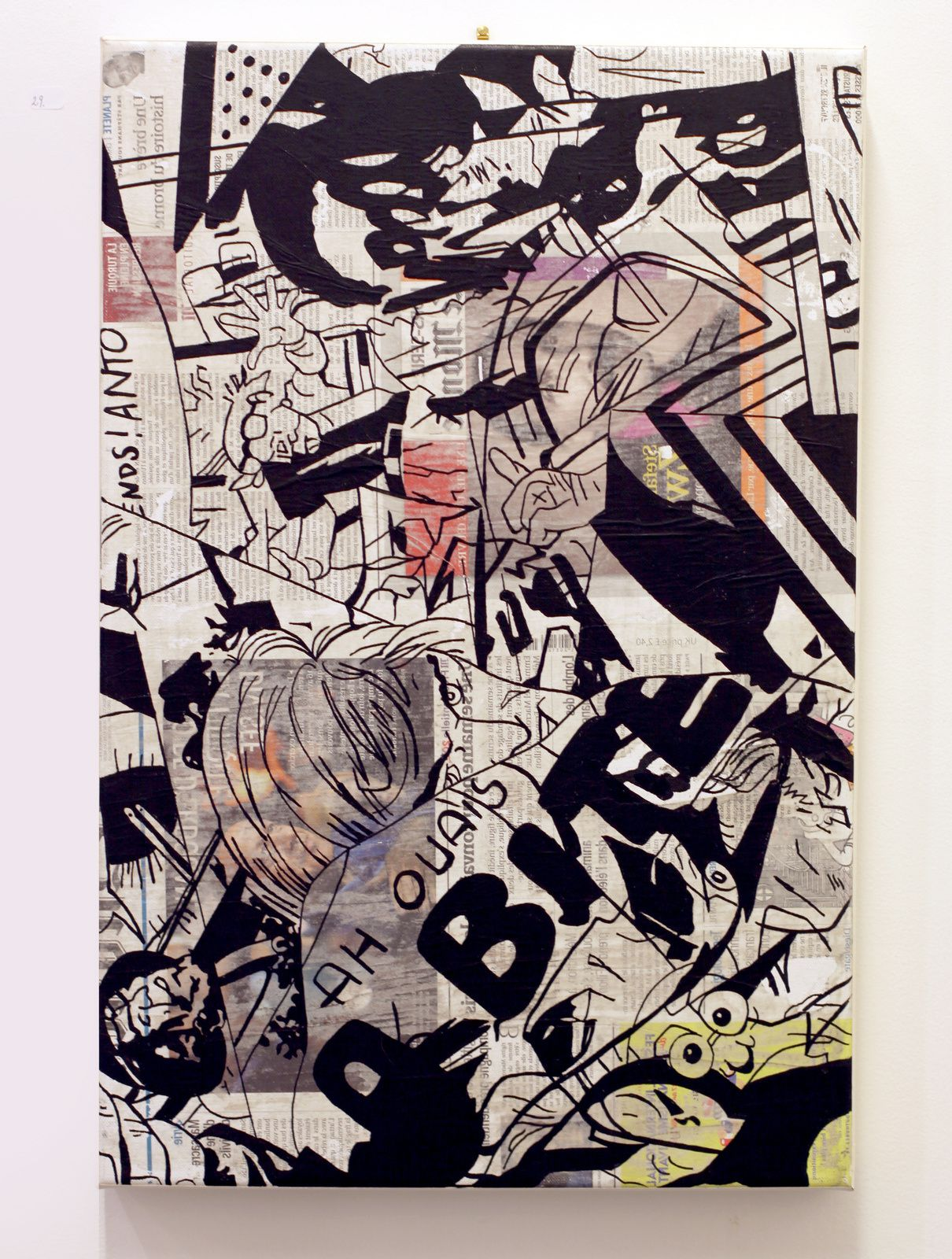 """17525"", 2017 de Benjamin SPARK - Courtesy de l'artiste et Galerie Taglialatella © Photo Éric Simon"