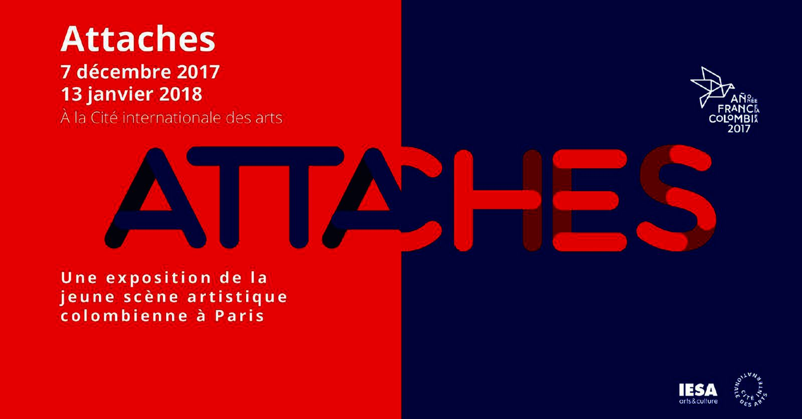 Exposition Collective Contemporaine: ATTACHES