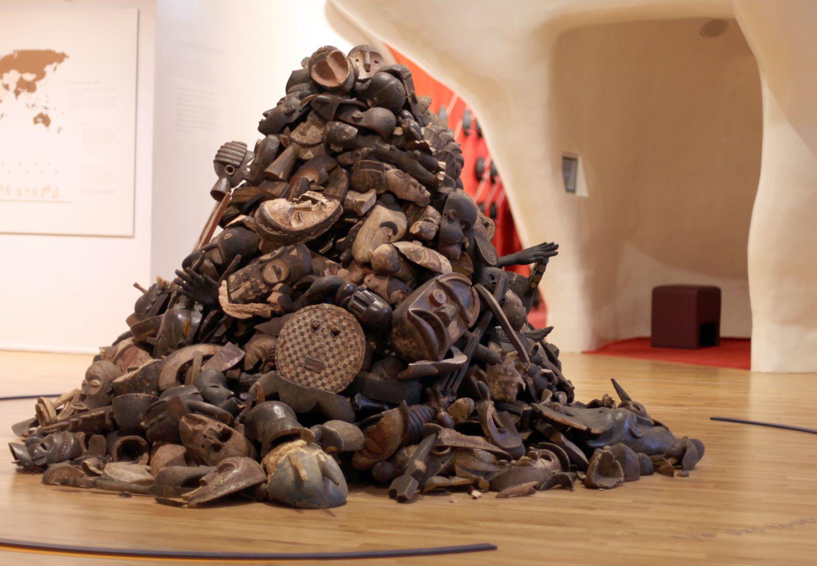 """""""Sans titre"""" de Théo MERCIER - Courtesy Galerie Bugada & Cargnel, Paris © Photo Éric Simon"""