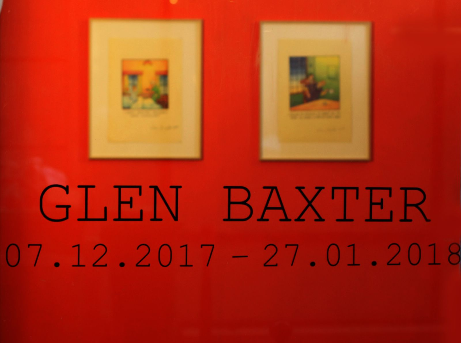 Exposition Illustration  Contemporaine: Glen BAXTER « Recent works »