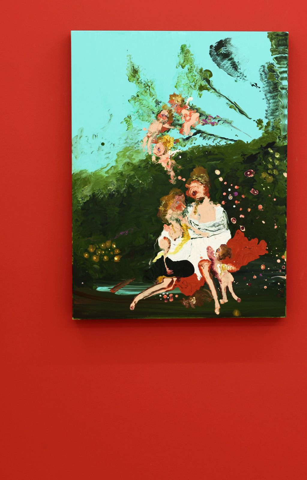 """Jupiter and Calisto (after Boucher)"", 2018 de Genieve FIGGIS - Courtesy Almine RECH Gallery © Photo Éric Simon"