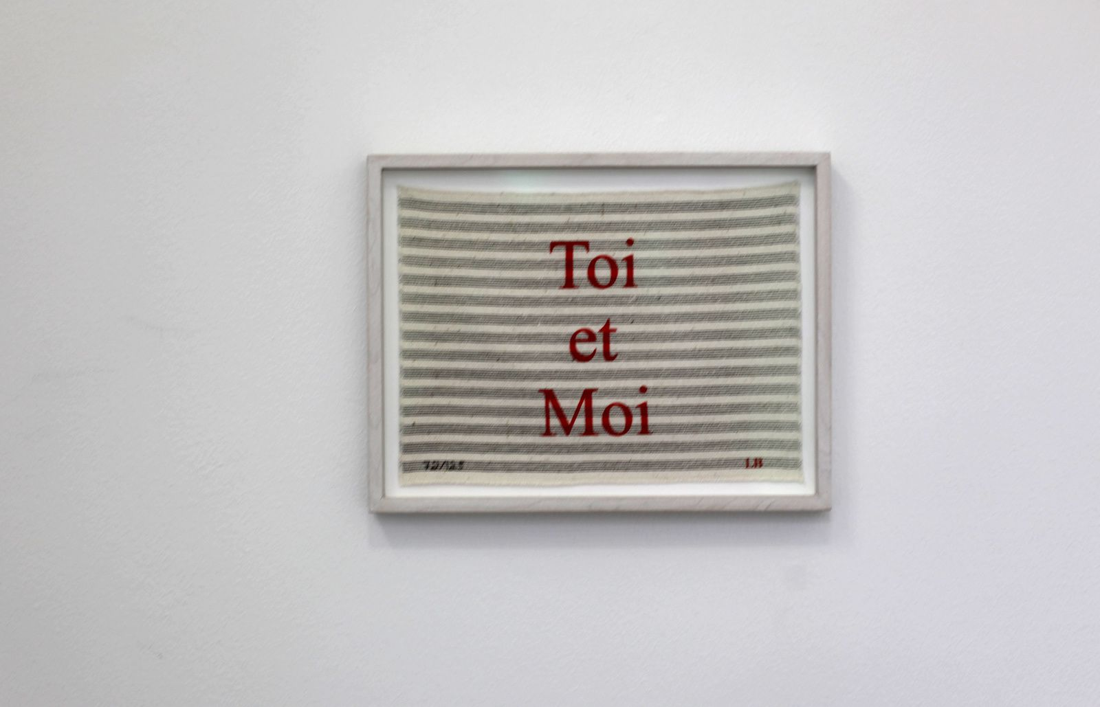 """Toi et Moi"", 2006 de Louise BOURGEOIS - Courtesy Galerie Karsten Greve © Photo Éric Simon"