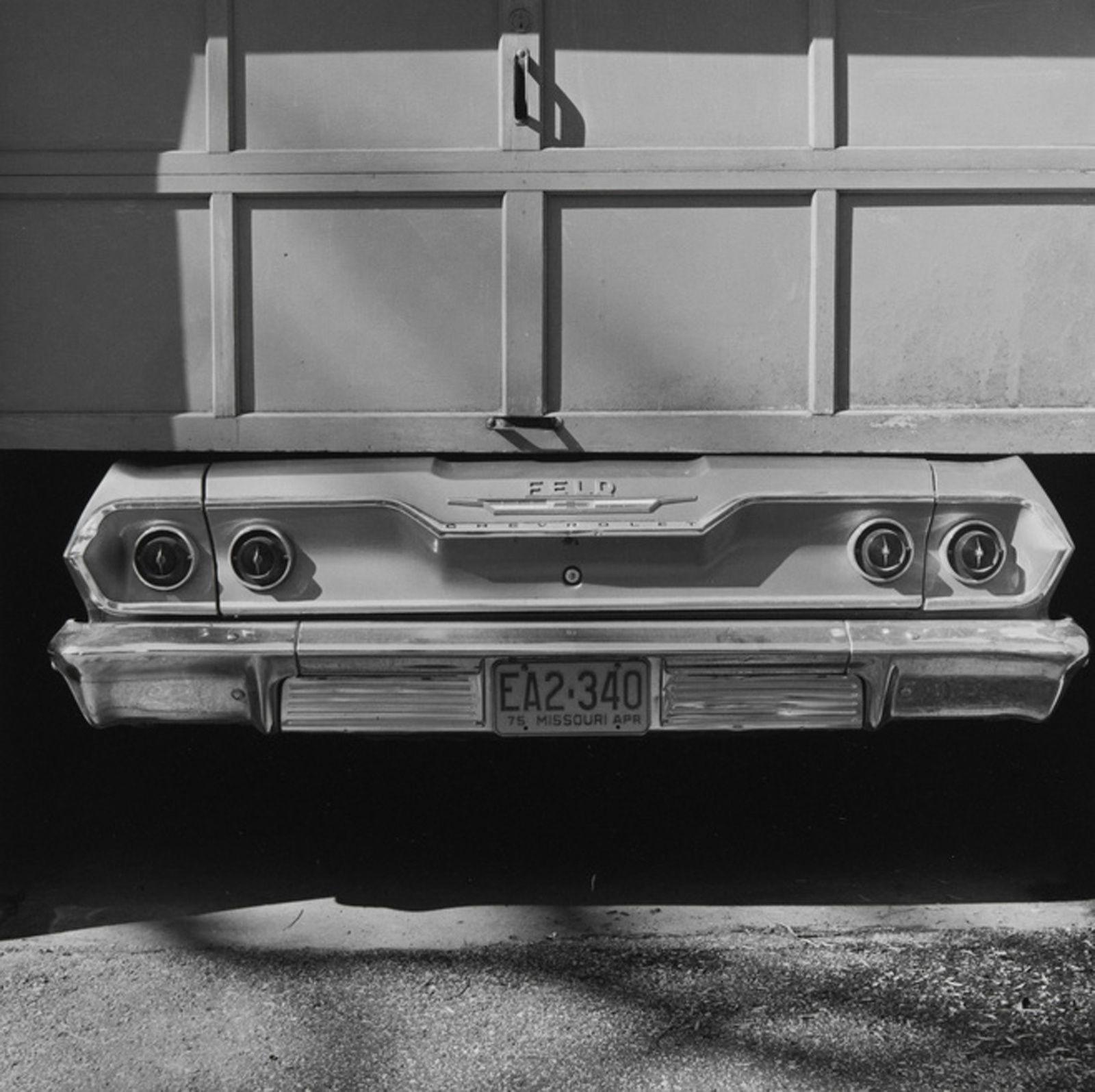 """""""Untitled, Kansas City, MO"""", 1975 de Steven RIFKIN - Courtesy de l'artiste et Les Douches la galerie, Paris"""