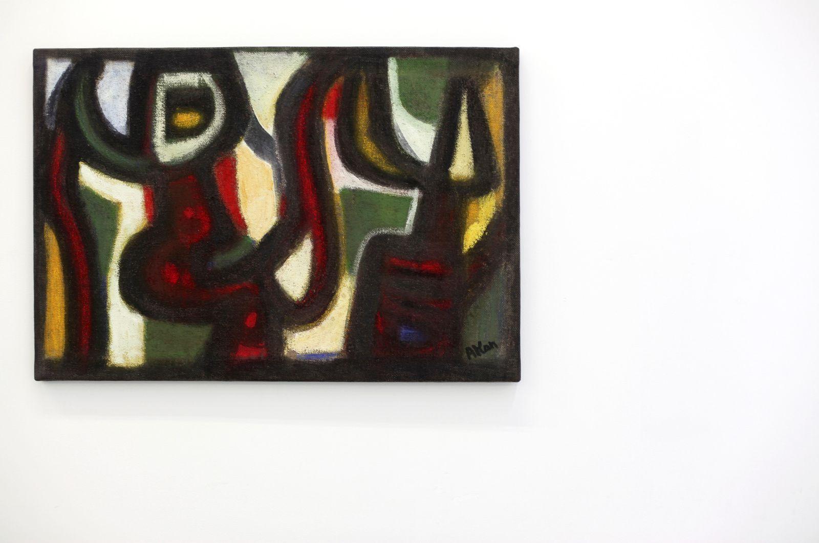 """Untitled"", 1958 de Jean Michel ATLAN - Courtesy Galerie Frank Elbaz © Photo Éric Simon"