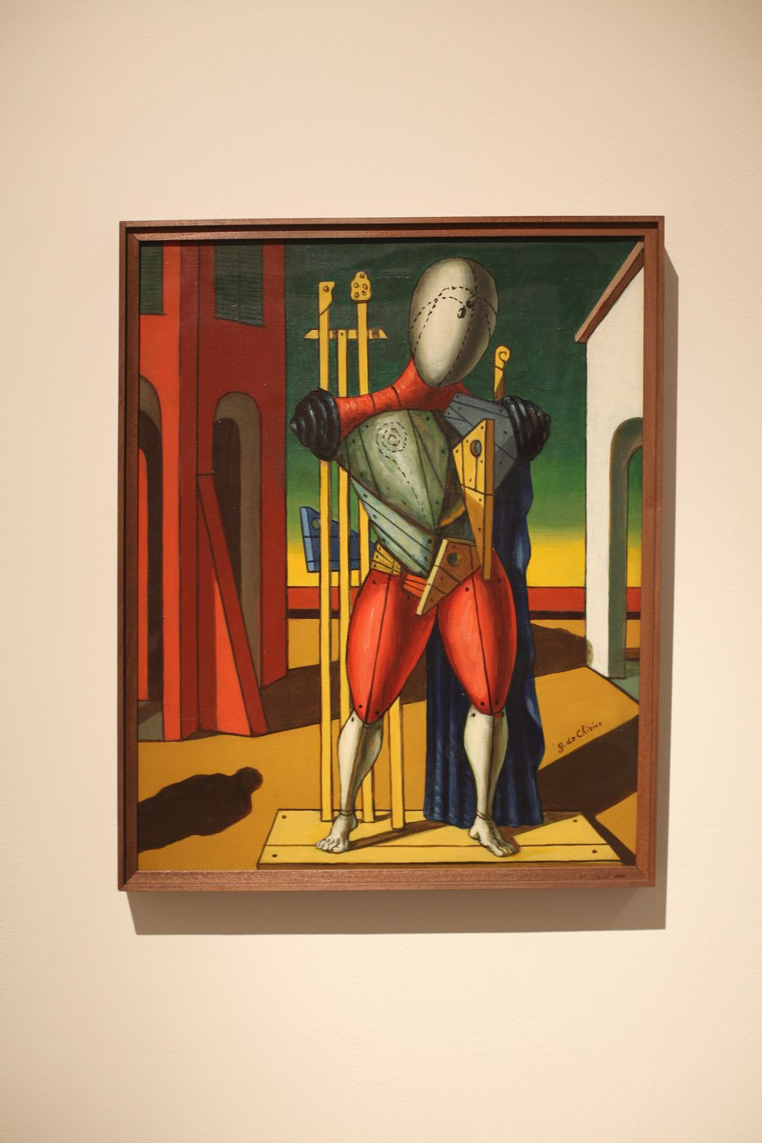 """Il trovatore"", 1959 de Giorgio DE CHIRICO - Courtesy Galerie Tornabuoni Art Paris © Photo Éric Simon"