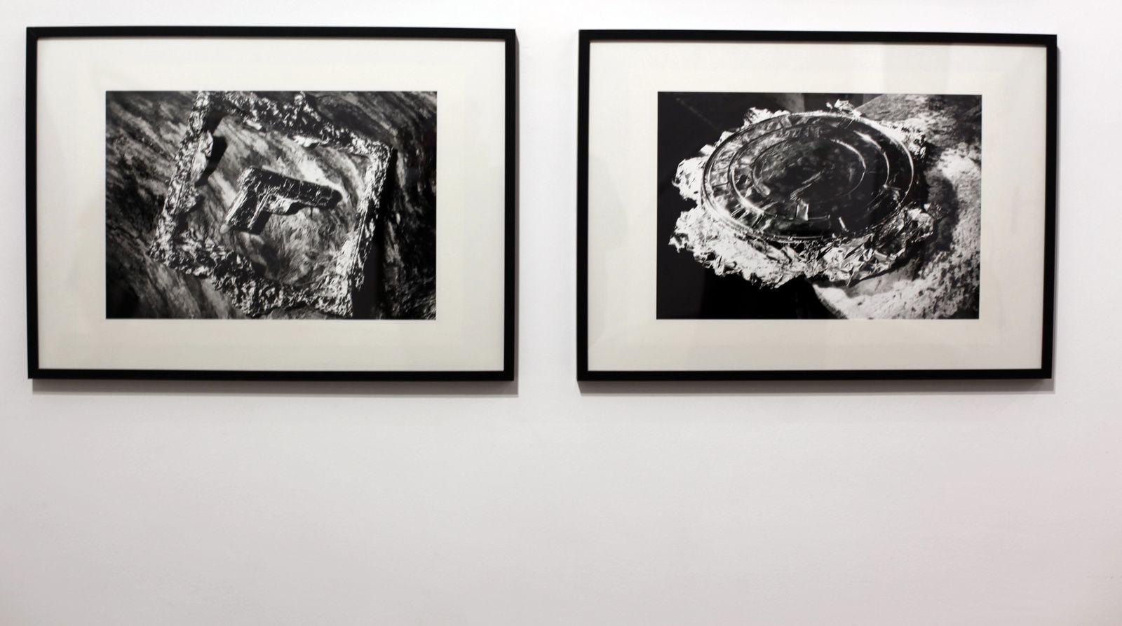 """Série """"Les papiers d'argent"""", 1991 d'Alain FLEISCHER - Courtesy Galerie RX © Photo Éric Simon"""