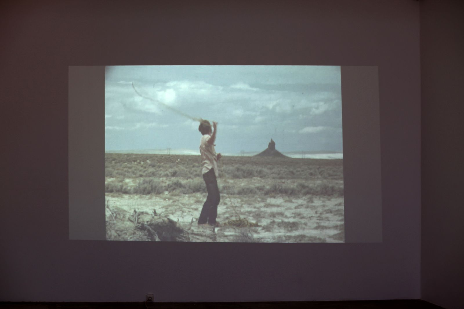 "Video en boucle ""Raping Boar's Tusk"", 1971 de Paul KOS - Courtesy Galerie Georges-Philippe et Nathalie VALLOIS © Photo Éric Simon"