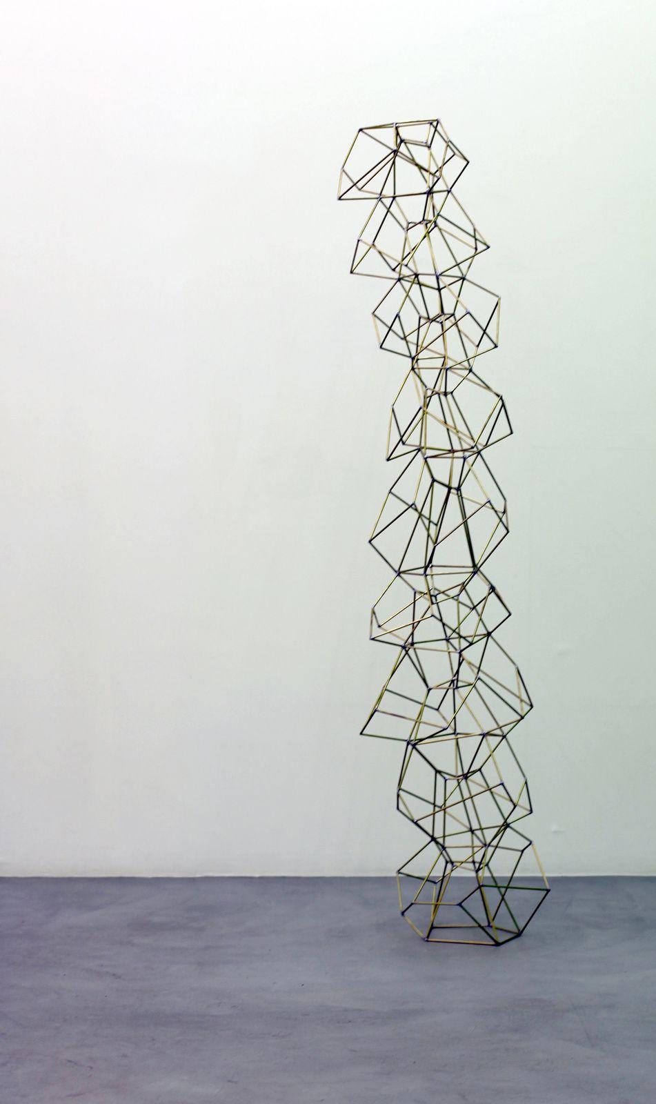 """9- stöckiger Dodekaeder"", 2016 de Beat ZODERER - Courtesy Galerie Semiose © Photo Éric Simon"