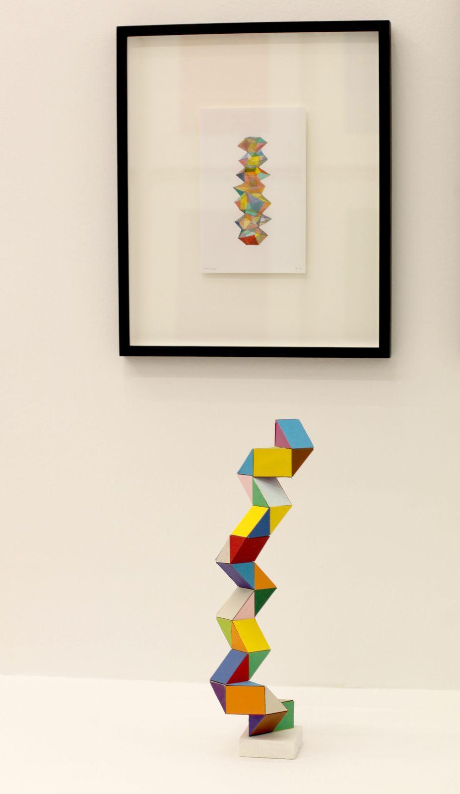 """Tower"", 2016 de Beat ZODERER - Courtesy Galerie Semiose © Photo Éric Simon"