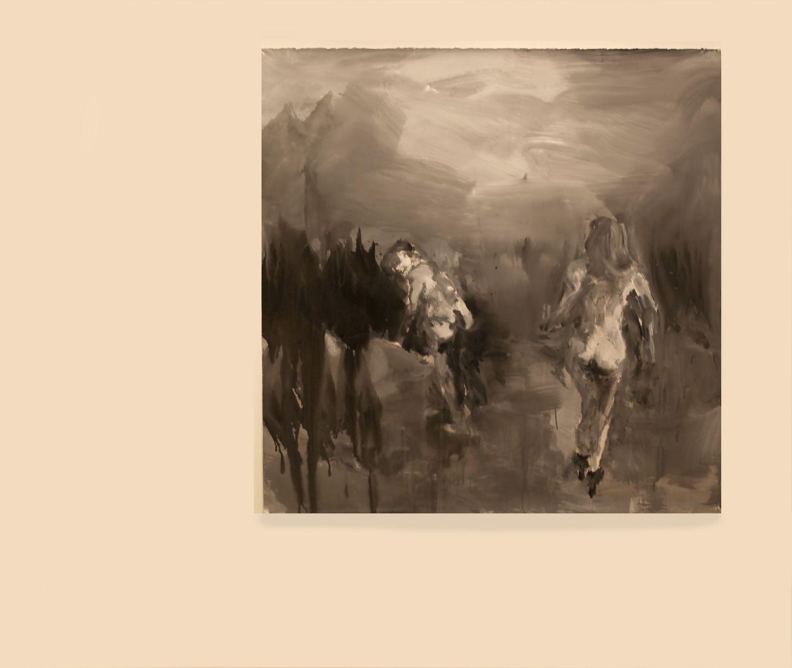 """Mesdemoiselles H. et V."", 2016 de Yan PEI-MING - Courtesy Galerie Thaddaeus ROPAC © Photo Éric Simon"