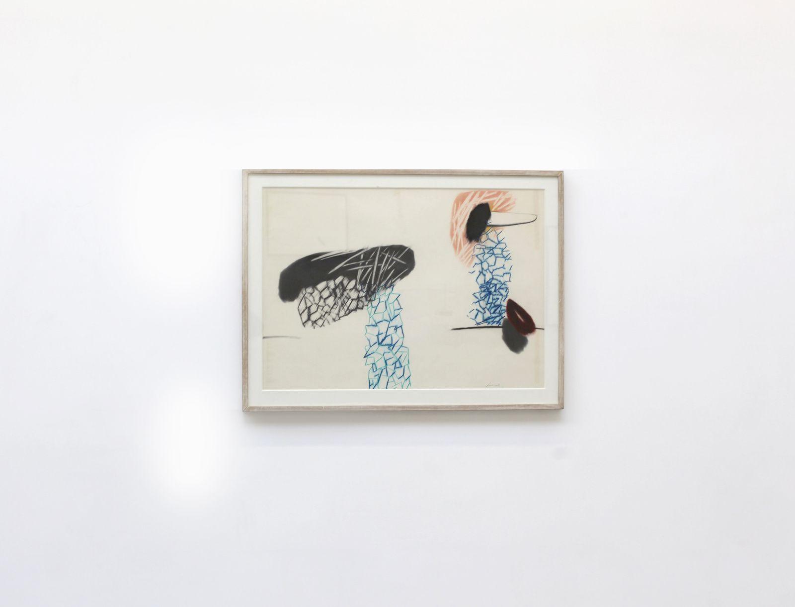 """""""Sans titre (passant luisant)"""", 1984 de Daniel POMMEREULLE - Courtesy Galerie Christophe Gaillard © Photo Éric Simon"""