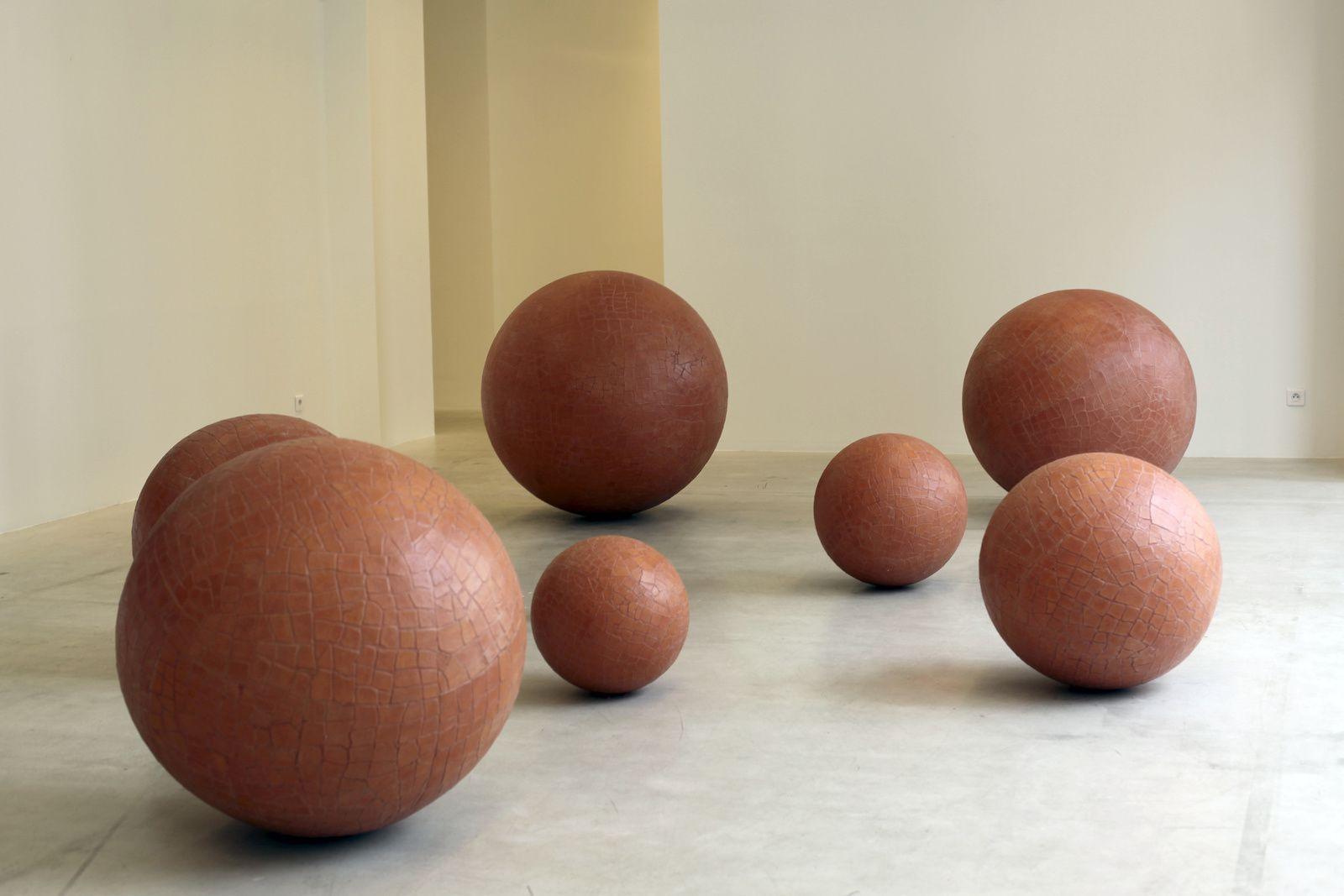 """Terre Nove"", 2017 de Luigi Mainolf - Courtesy Galerie Italienne © Photo Éric Simon"