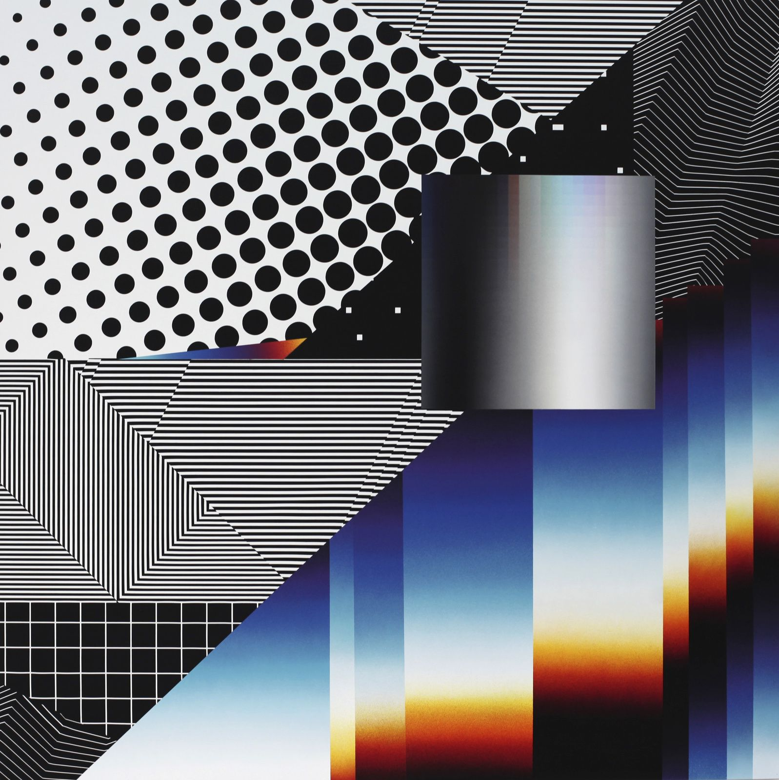 """Optichromie 99"", 2018 de Felipe PANTONE - Courtesy Galerie Magda Danysz - Paris © Photo Éric Simon"