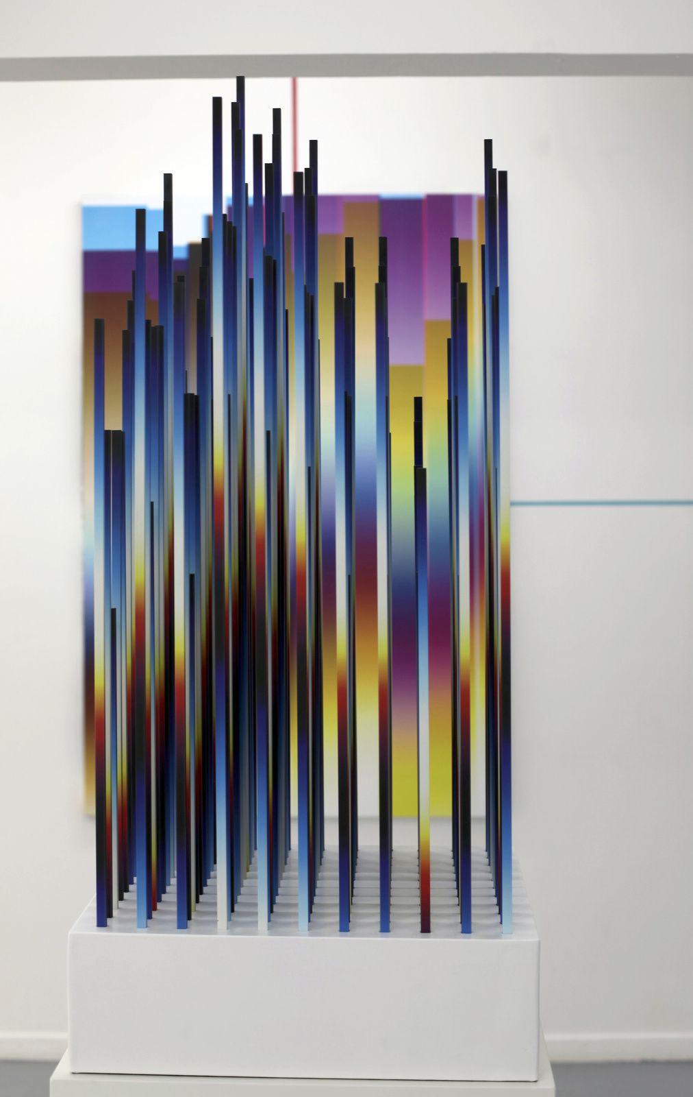"""Chromadynamica Dimensional 2 "", 2018 de Felipe PANTONE - Courtesy Galerie Magda Danysz - Paris © Photo Éric Simon"