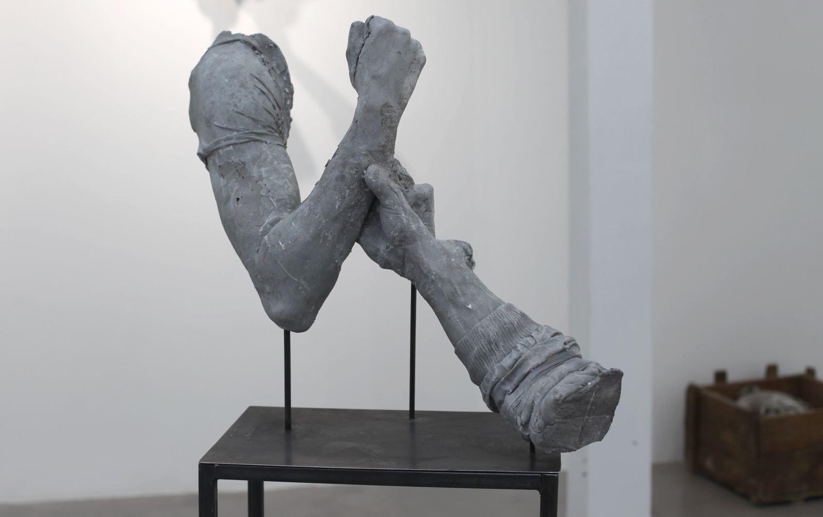 """""""Sans titre"""", 2018 de Ugo SCHIAVI - Courtesy La Galerie Particulière © Photo Éric Simon"""