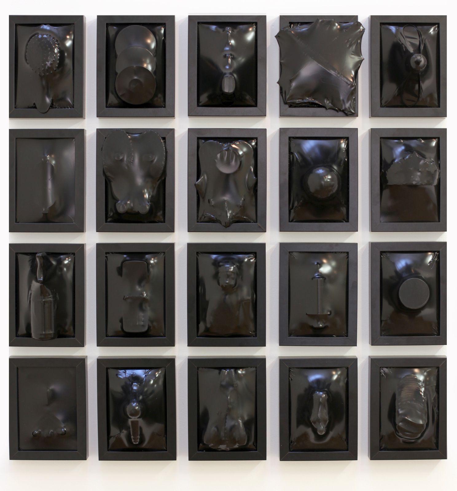 """""""Sèche-pleurs"""", 2018  de Florent LAMOUROUX - Courtesy Galerie Isabelle Gounod et de l'artiste © Photo Éric Simon"""