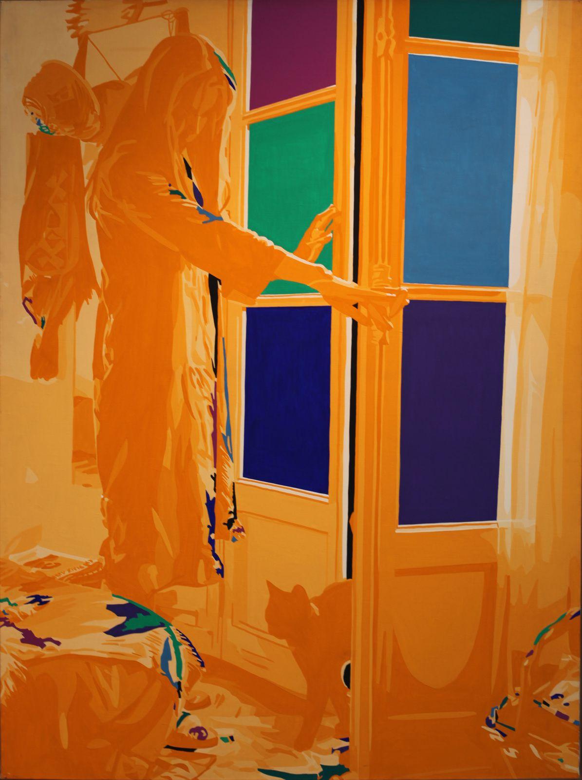 """""""Florence, le matin (de la série Splendeur)"""", 1976 de Gérard FROMANGER - Courtesy Galerie Jeanne Bucher Jaeger © Photo Éric Simon"""