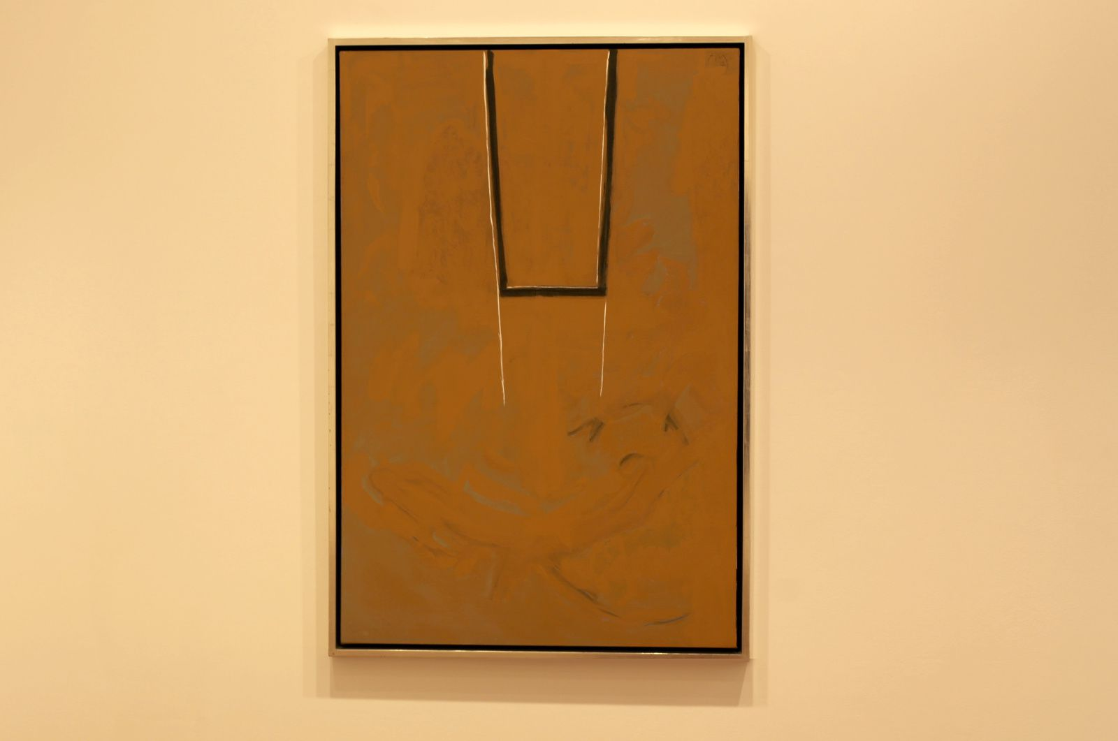 """Great wall of China #4"", 1971 de Robert MOTHERWELL - Courtesy Galerie Templon © Photo Éric Simon"