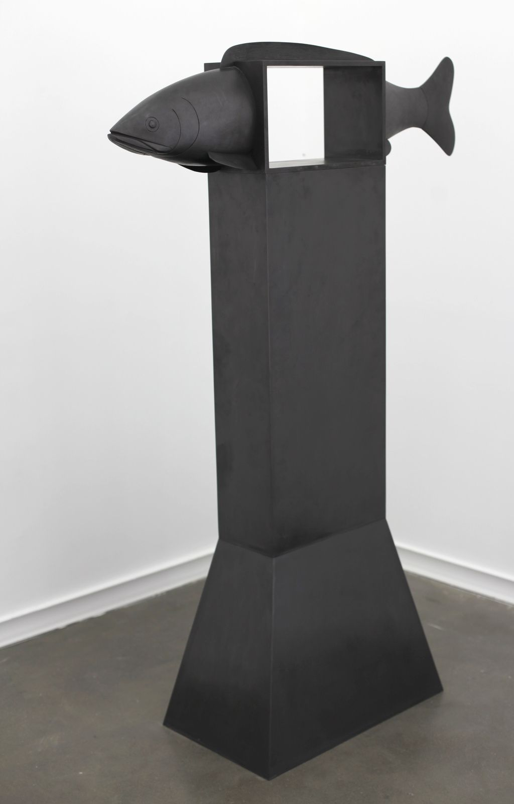 """Poisson paysage IV"", 2007 de Françoic Xavier LALANNE - Courtesy Galerie Mitterrand © Photo Éric Simon"