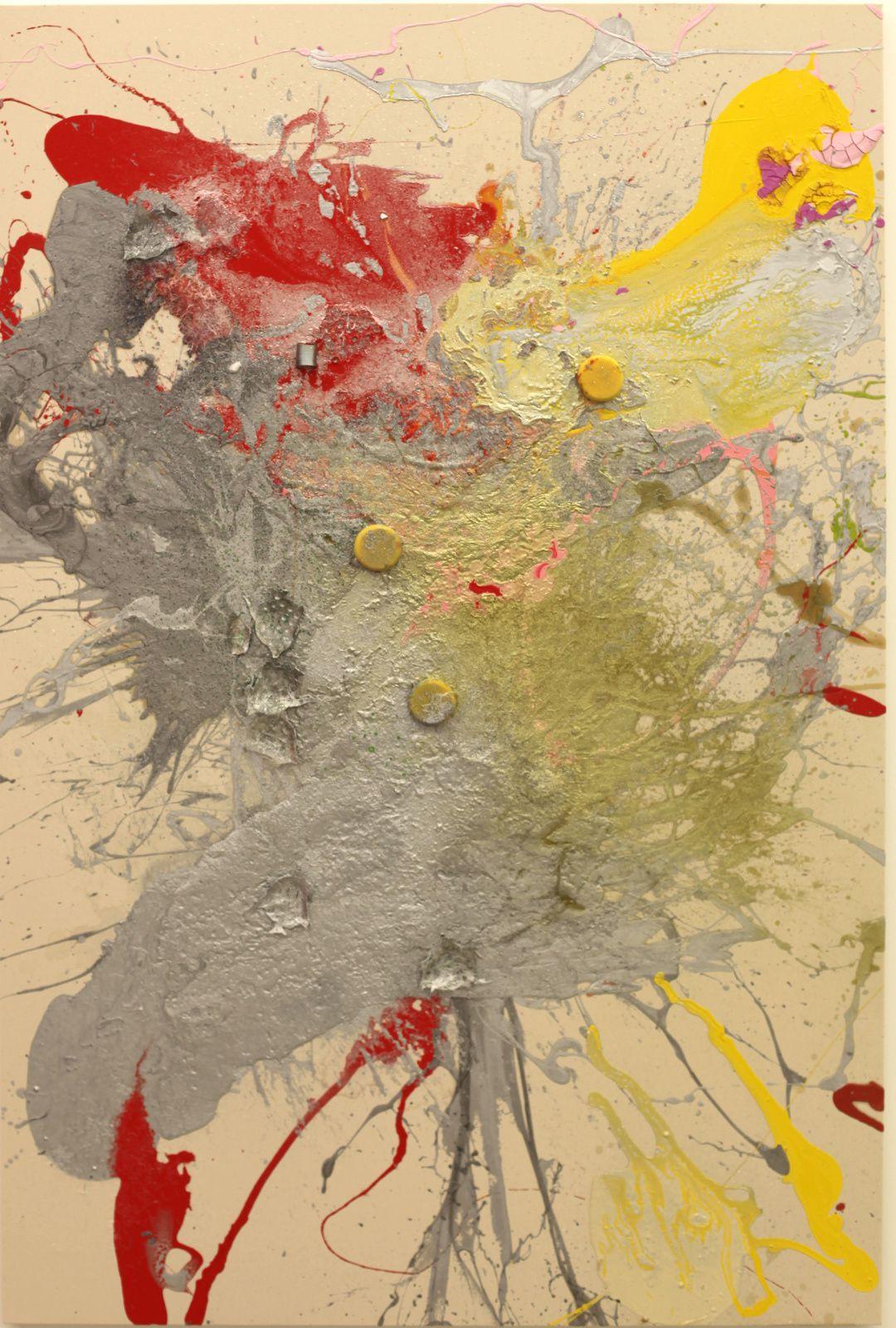 """Portails"", 2018 de John M ARMLEDER - Courtesy Galerie Almine Rech © Photo Éric Simon"