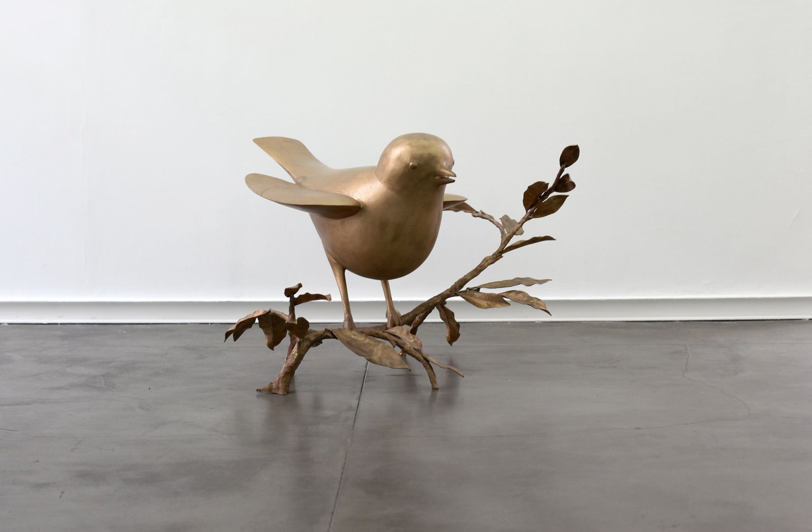 """Oiseau de Peter (grand)"", 2003 - 2008 de Françoic Xavier LALANNE - Courtesy Galerie Mitterrand © Photo Éric Simon"