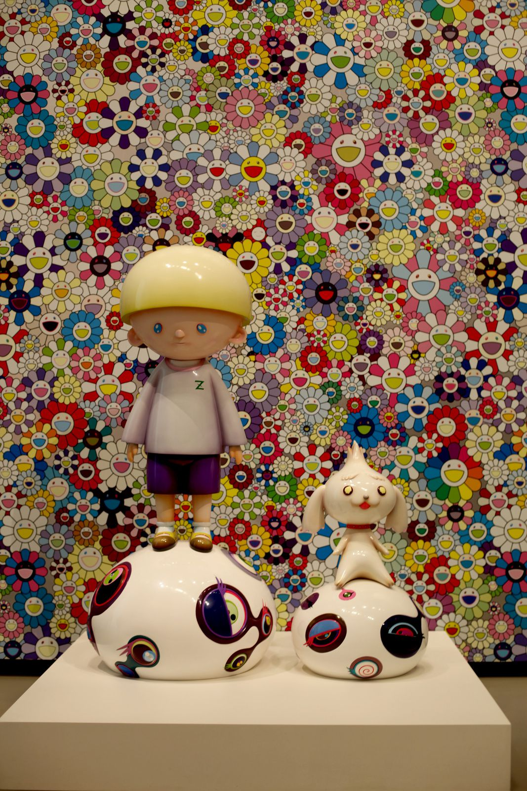 "Détail ""Kawaii"" de Takashi MURAKAMI - Courtesy FONDATION LOUIS VUITTON © Photo Éric Simon"