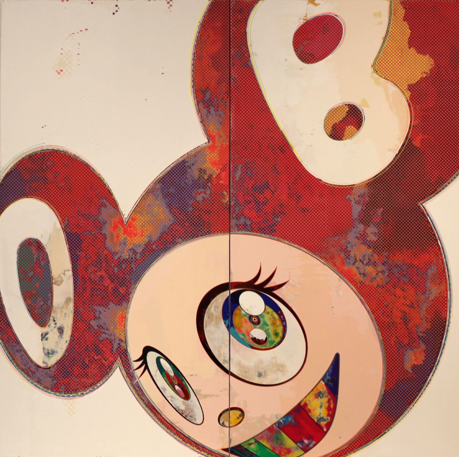 """DOB"", 1994 de Takashi MURAKAMI - Courtesy FONDATION LOUIS VUITTON © Photo Éric Simon"