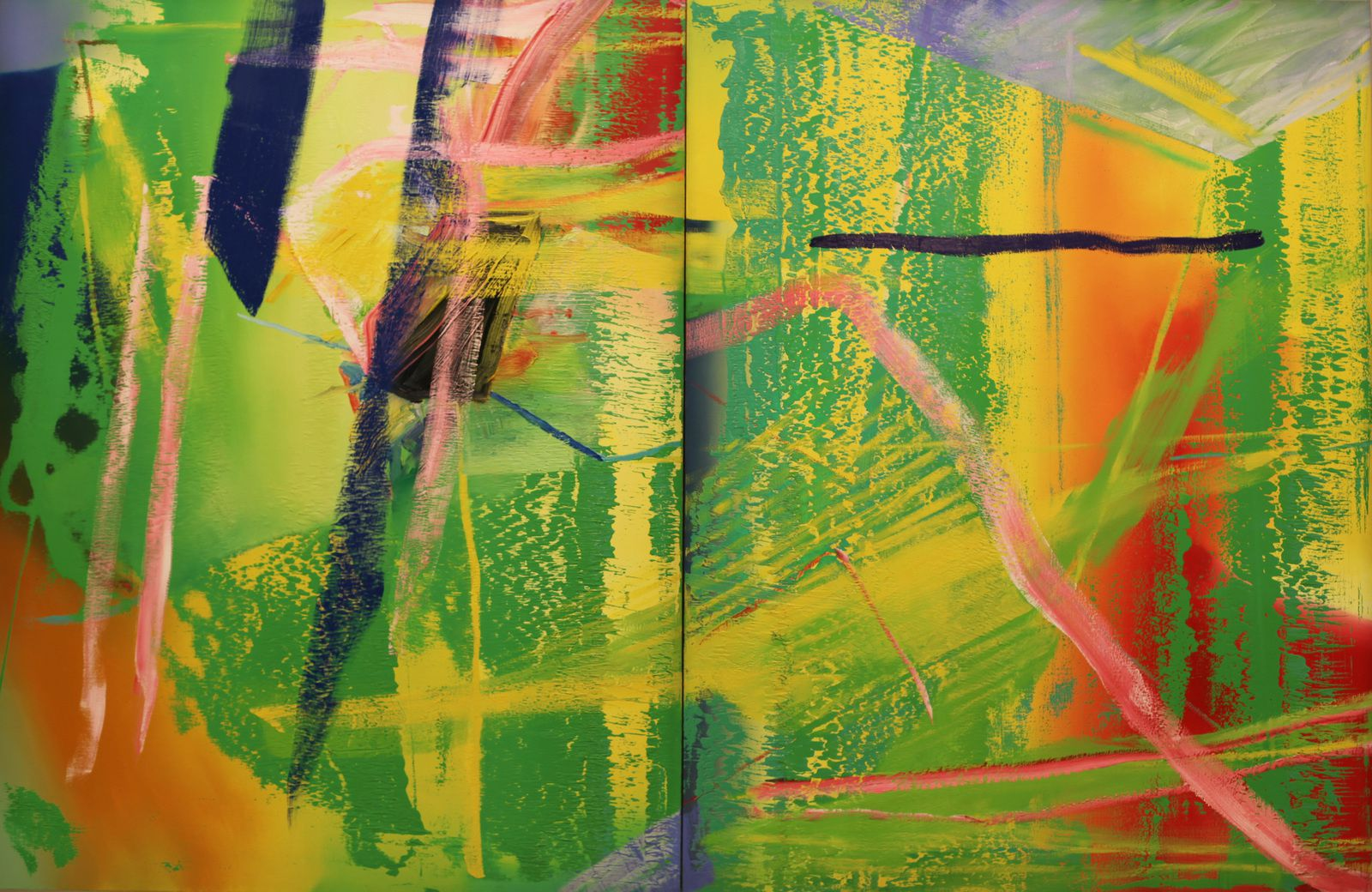 """Lilak"", 1982 de Gerhard RICHTER - Courtesy FONDATION LOUIS VUITTON © Photo Éric Simon"