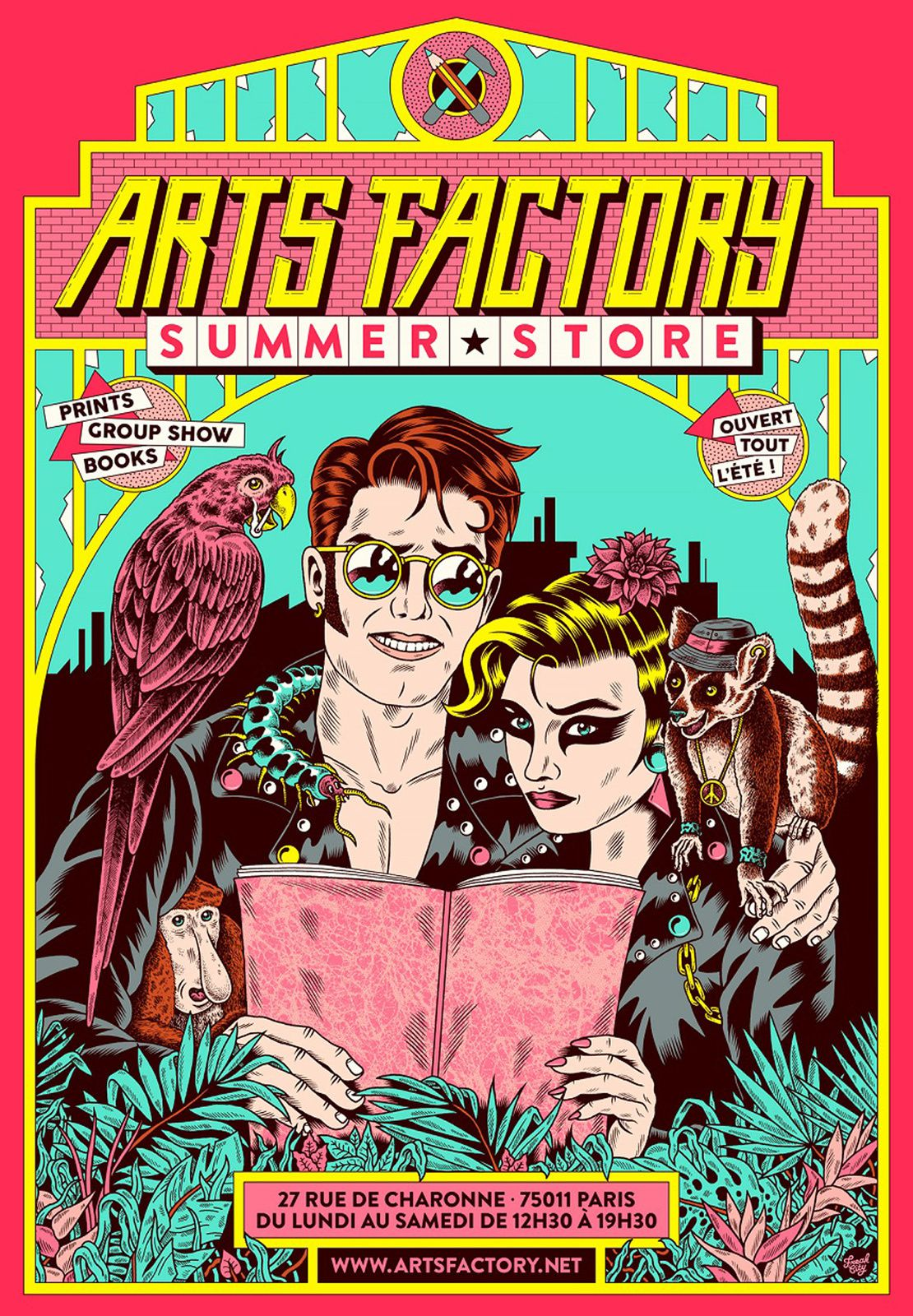 Exposition Collective Illustration Contemporaine : SUMMER STORE