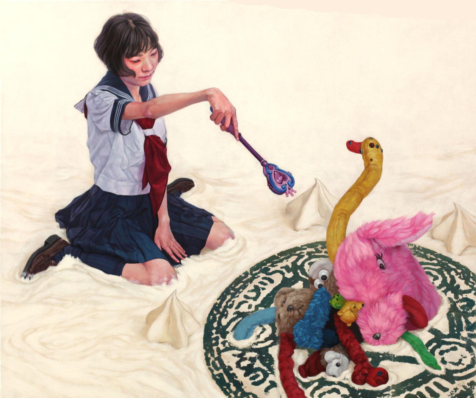 """Homuncukus"", 2018 de Kazuhiro HORI - Courtesy Galerie LJ © Photo Éric Simon"