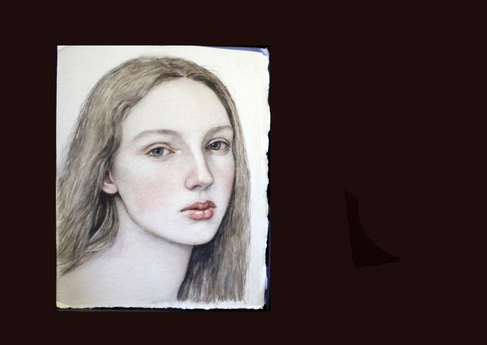 """""""Kateryna"""", 2018 de Nicolas TOLMACHEV - Courtesy Galerie Da End © Éric Simon"""
