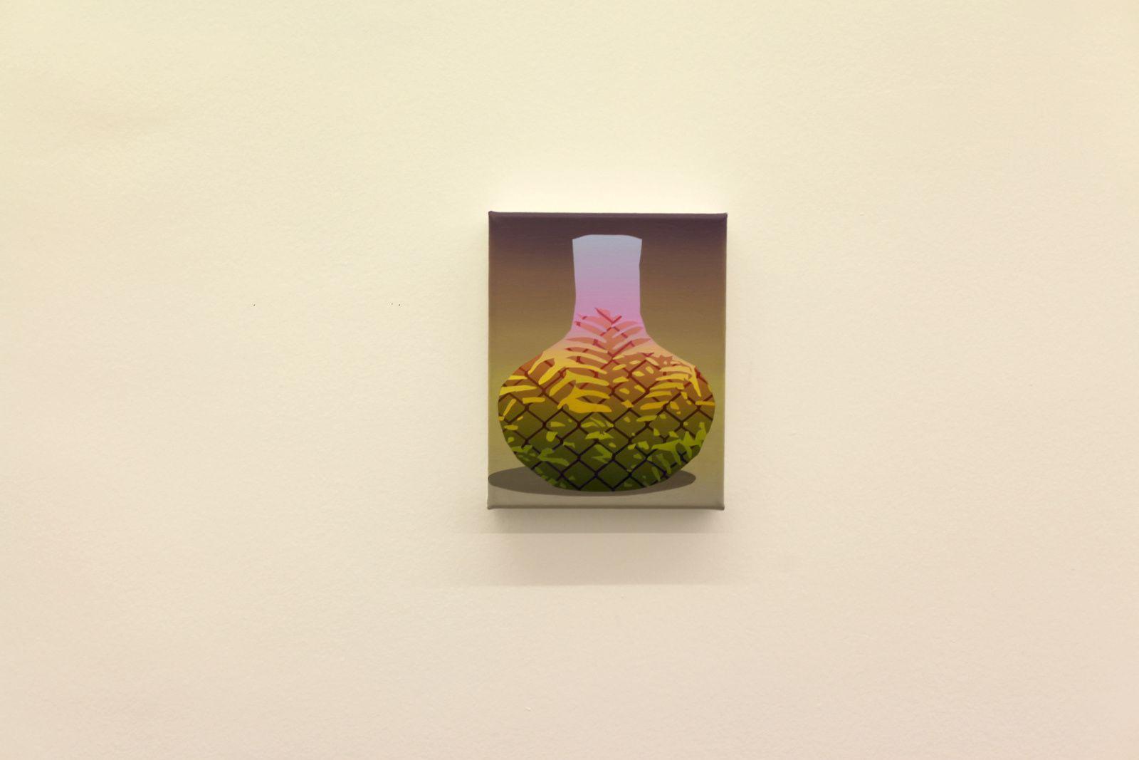 """Muddy Water"", 2018 d'Amélie BERTRAND - Courtesy Galerie Semiose © Photo Éric Simon"