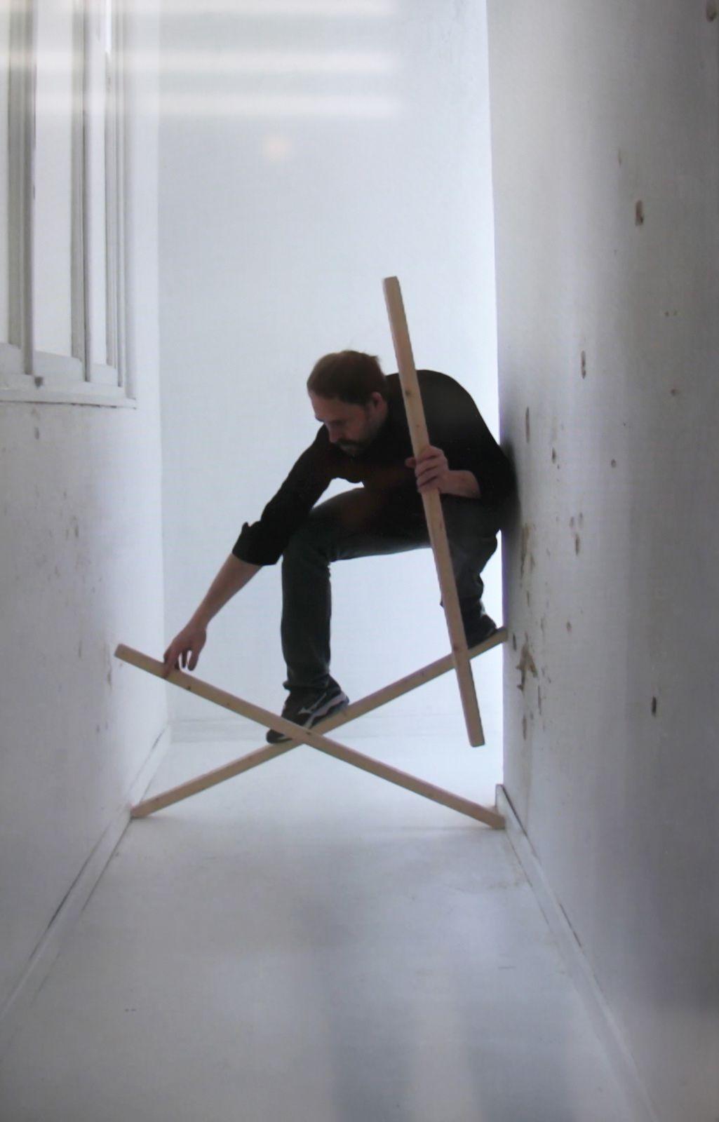 """Video """"Reflected pixel"""", 2008 de Claude CATTELAIN - Courtesy de l'artiste © Photo Éric Simon"""