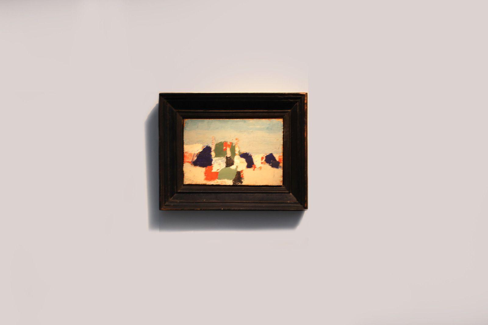 """""""Le Lavandou"""", 1952 de Nicolas de STAÊL - Courtesy Galerie Jeanne Bucher Jaeger © Photo Éric Simon"""