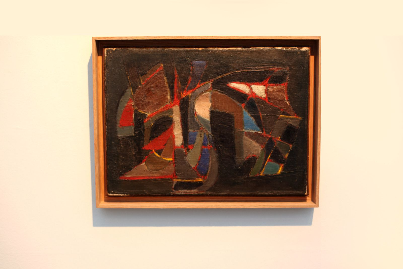 """Composition"", 1945 DE Nicolas de STRAÊL - Courtesy Galerie Jeanne Bucher Jaeger © Photo Éric Simon"