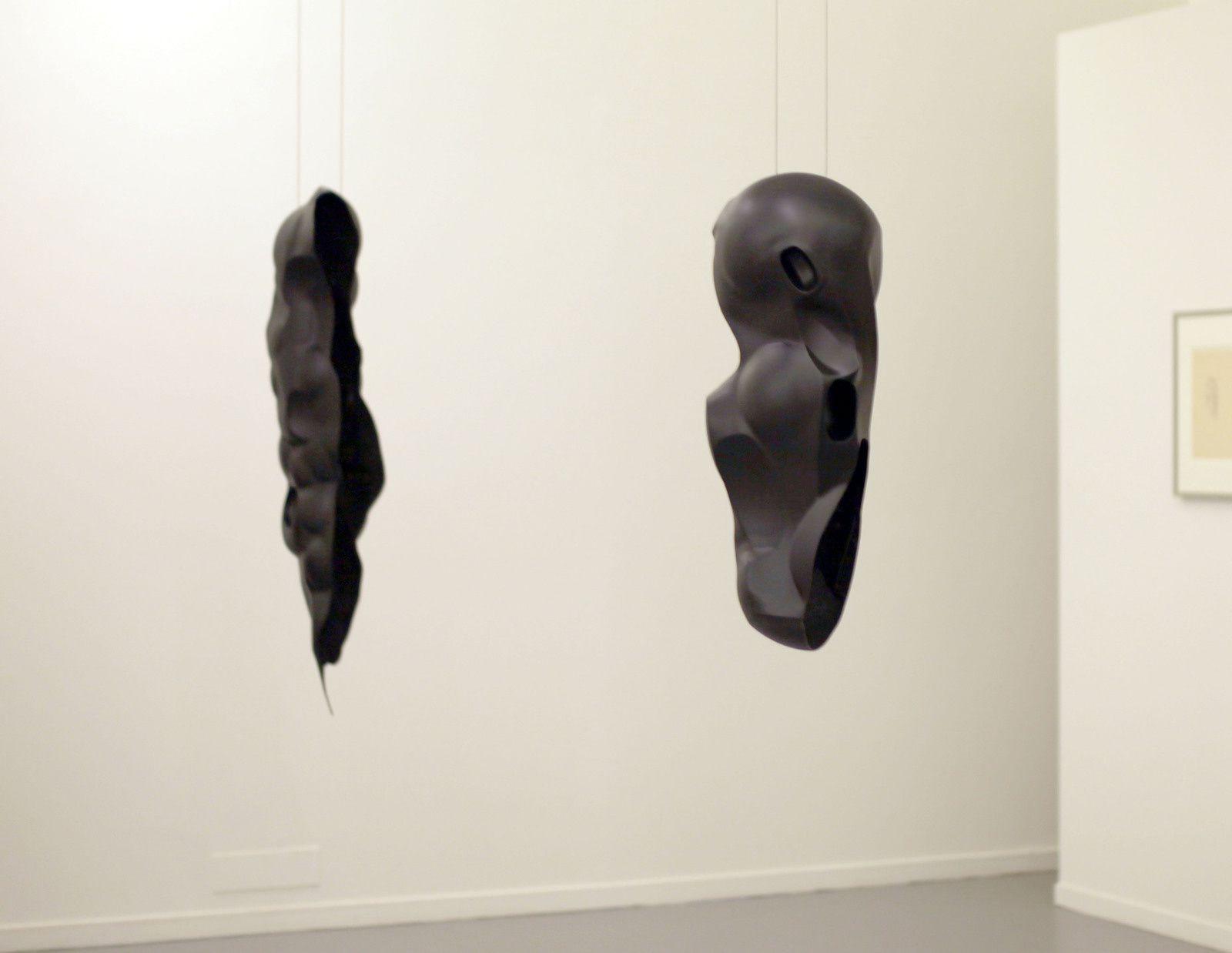 """""""Un autre corps I"""" et """"Avec rien"""", 2018 de Rui CHAFES - Courtesy de l'artiste © Photo Éric Simon"""