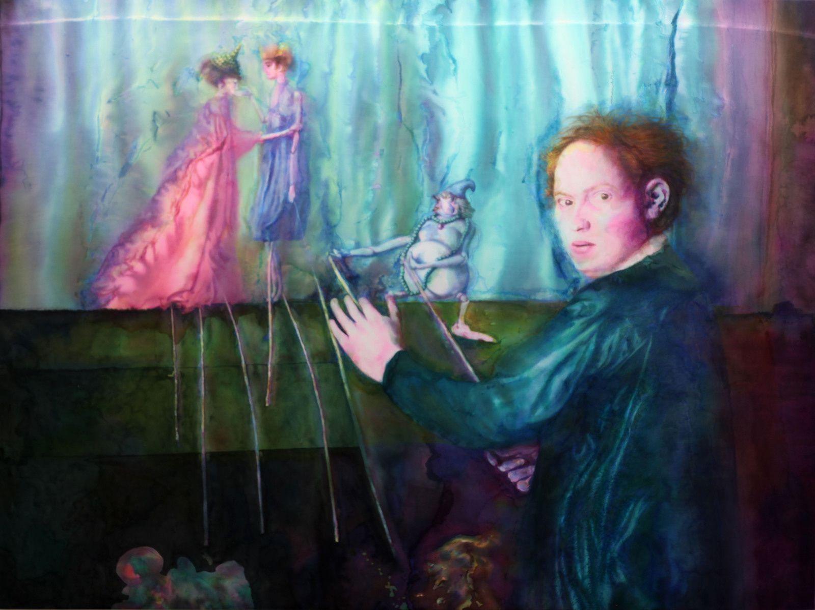 """The Master"", 2018 de Katharina ZIEMKE - Courtesy Galerie Isabelle Gounod © Photo Éric Simon"