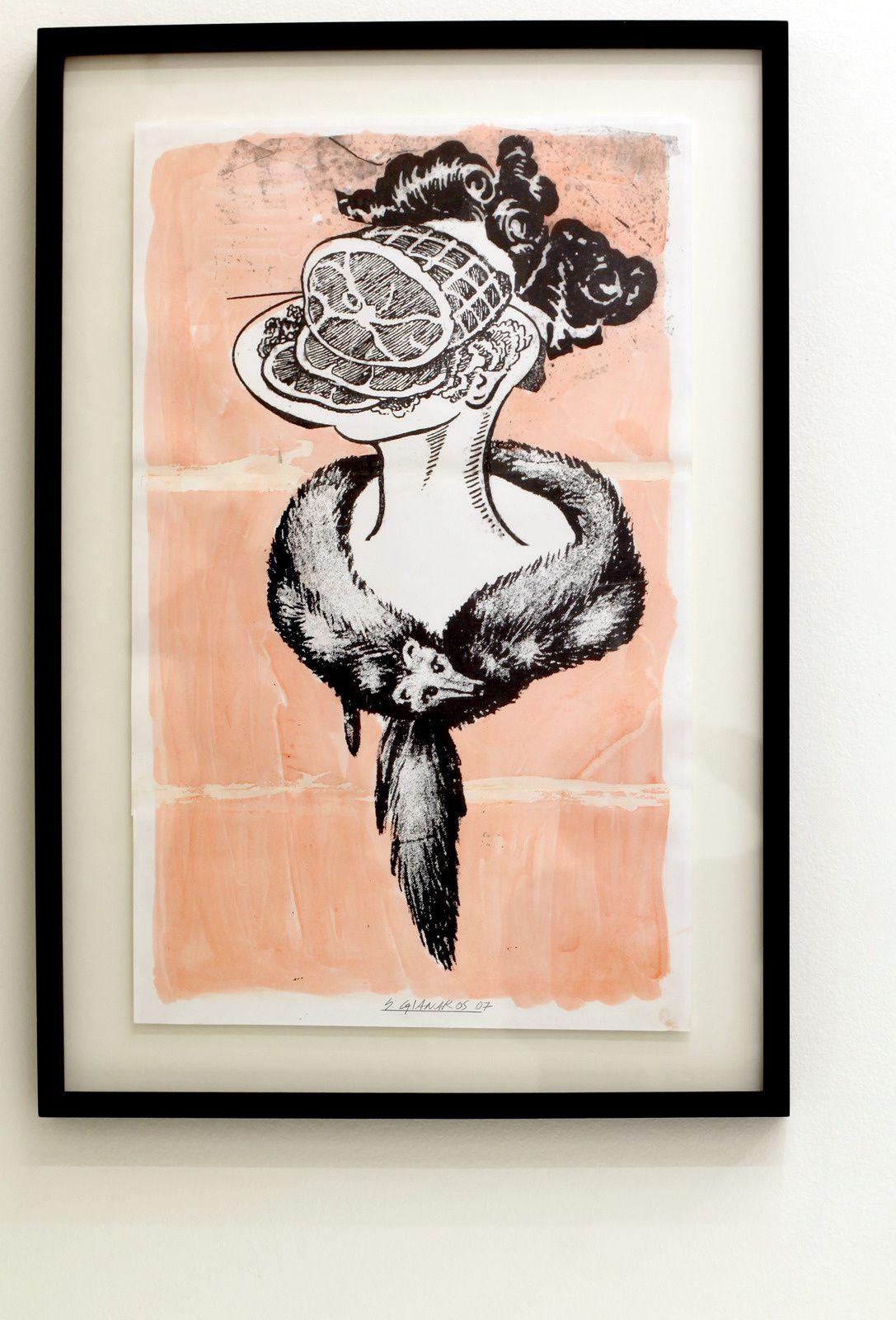"""""""She didn't dwell on insults"""", 2007 de Steve GIANAKOS - Courtesy Galerie Sémiose © Photo Éric Simon"""