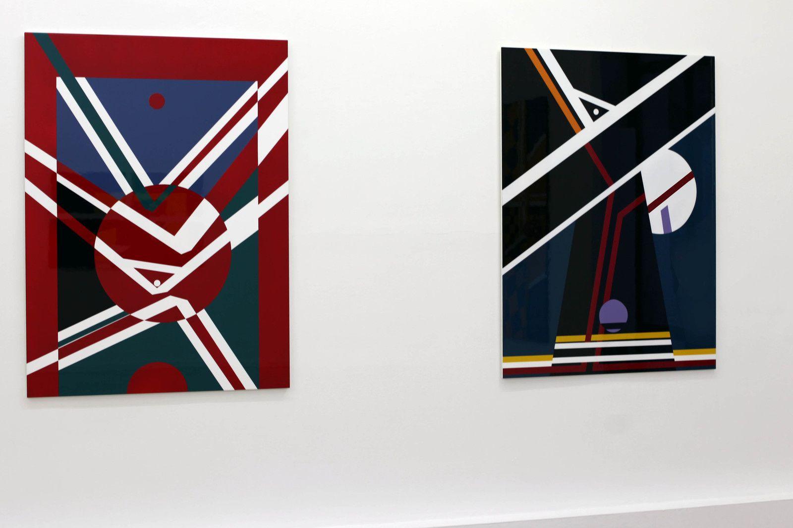 """""""Problématique géométrique #3"""", 1974 de ORLAN - Courtesy Galerie Ceysson & Bénétière © Photo Éric Simon"""