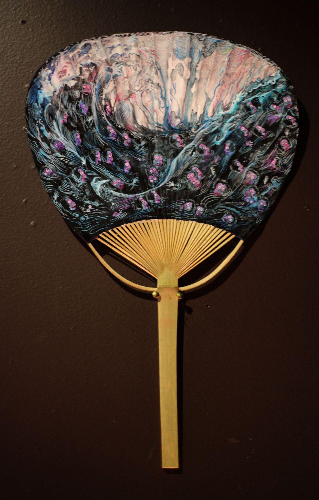 """""""Mille reflets de mon visage dans la prunelle d'une mouche"""", 2018 de Daïchi MORI - Courtesy de l'artiste et Galerie Da-End © Photo Éric Simon"""