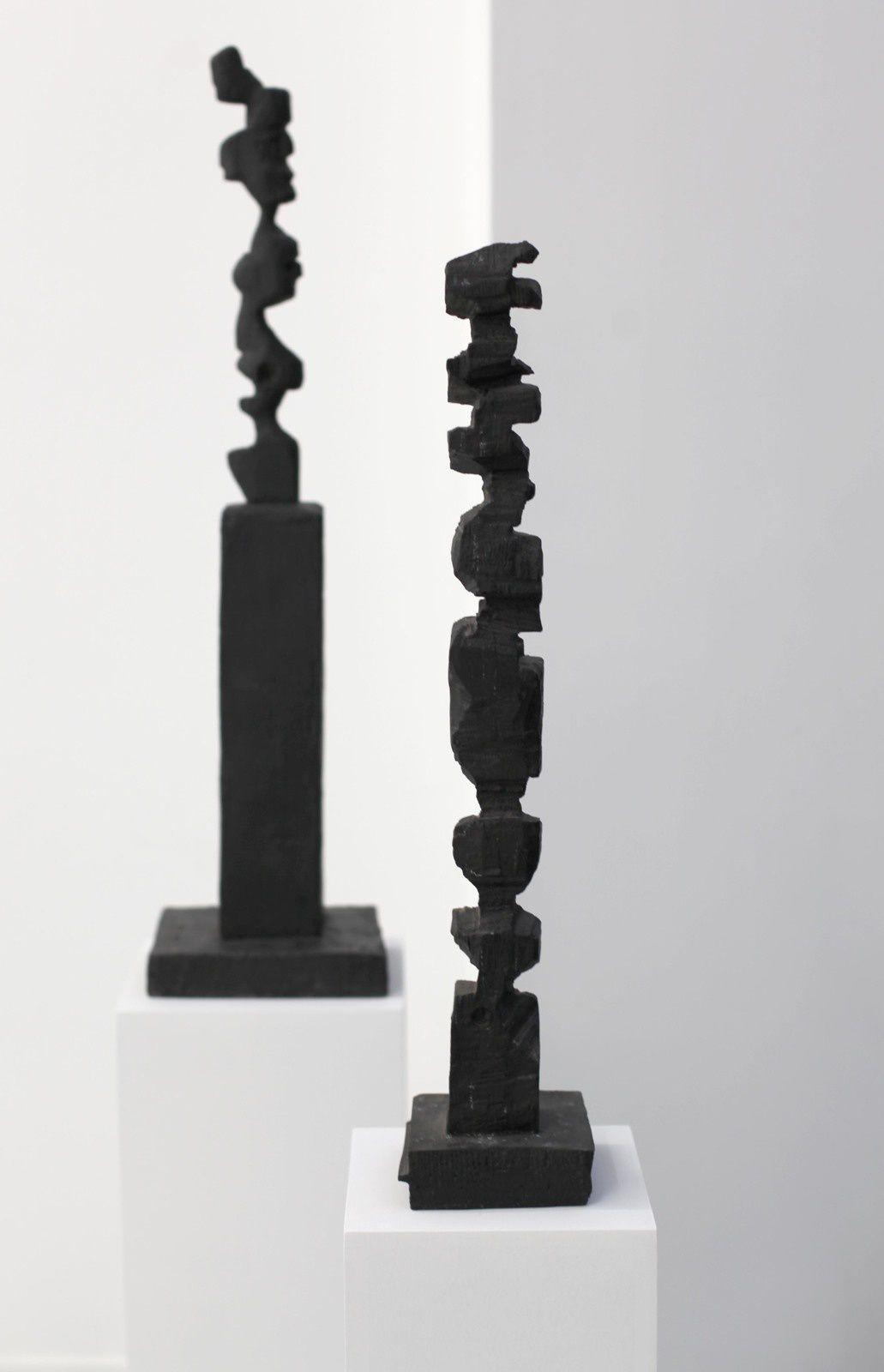 """""""BM pour Brice Marden"""", 1989 et """"T/TI"""", 1988 de A.R. PENCK - Courtesy Galerie Suzanne TARASIEVE © Photo Éric Simon"""