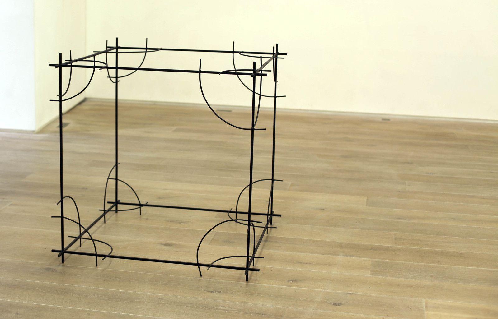 """""""Cube"""", 2018 de Yazid OULAB - Courtesy Galerie Éric Dupont © Photo Éric Simon"""