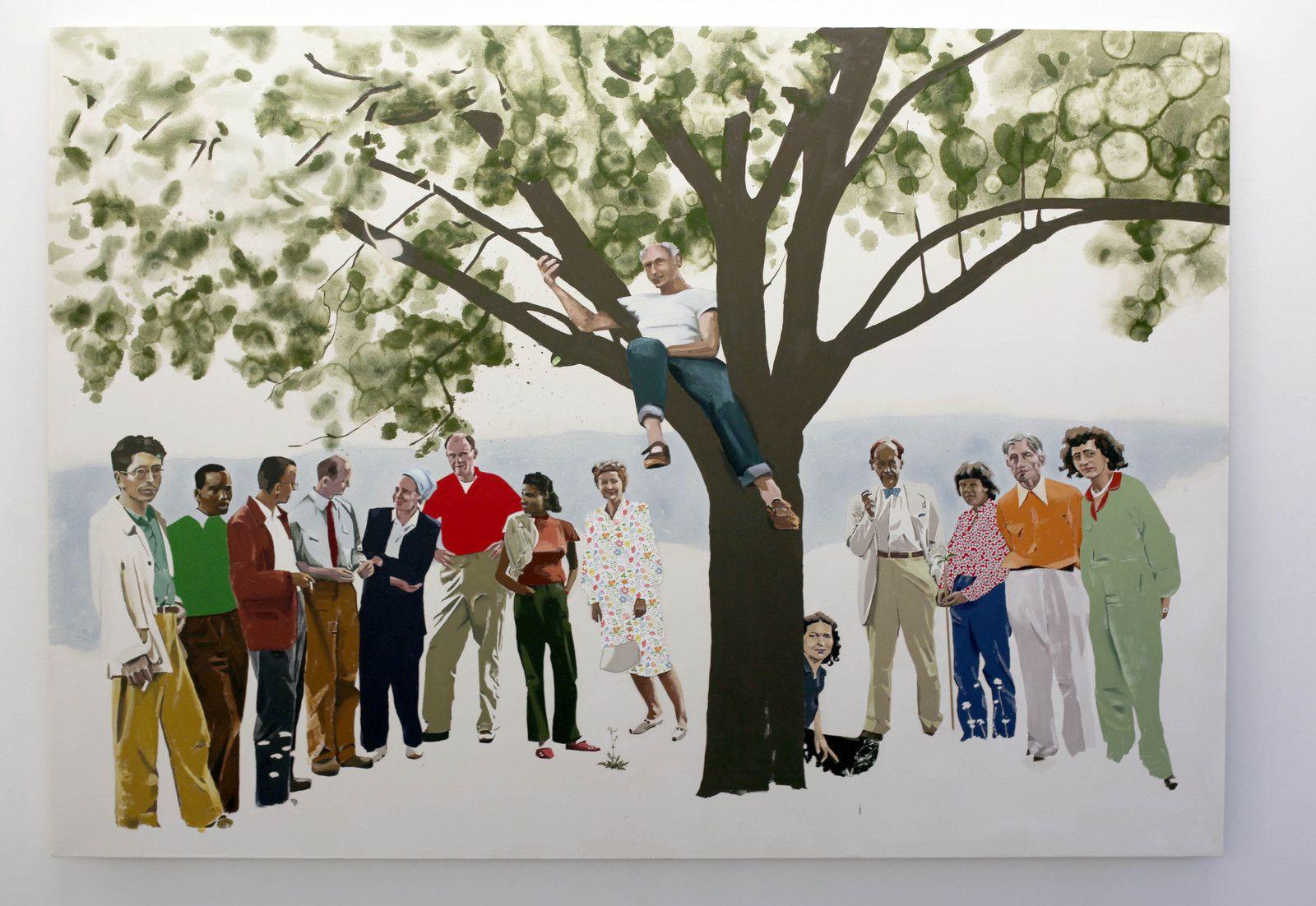 """""""Summer Faculty"""", 2018 de Blaise DRUMMOND - Courtesy Galerie Loevenbruck © Photo Éric Simon"""