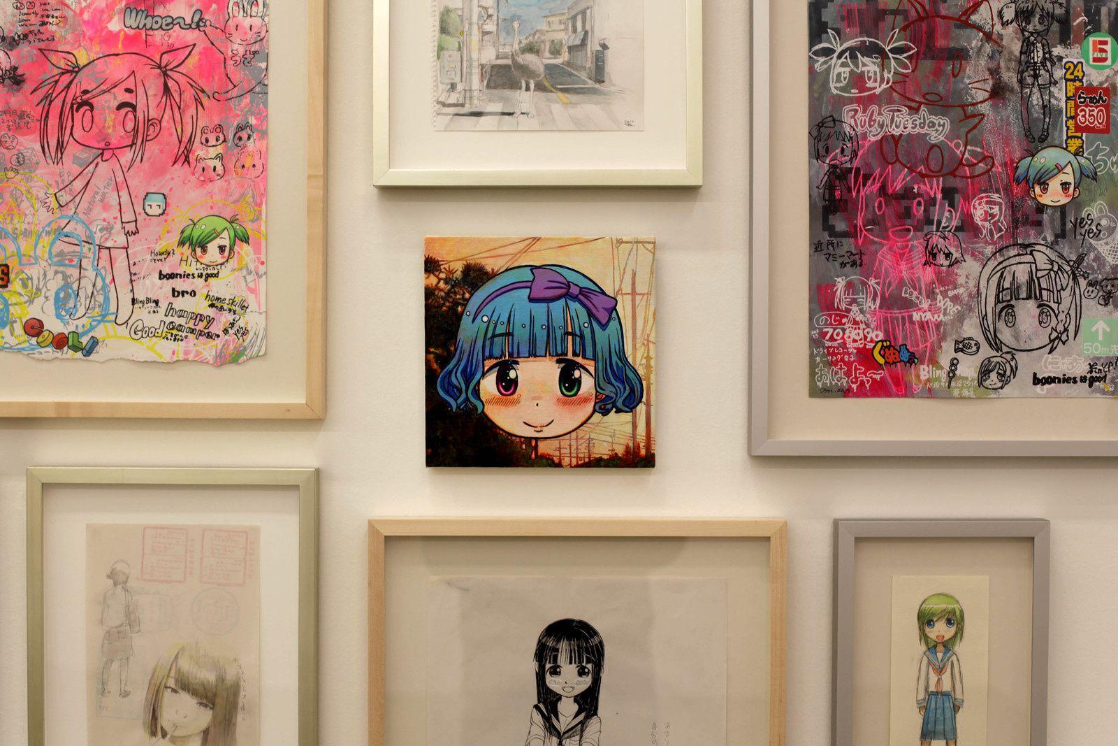 """Yui - Dusk 16:45pm"", 2018 de MR. - Courtesy Galerie Perrotin © Photo Éric Simon"