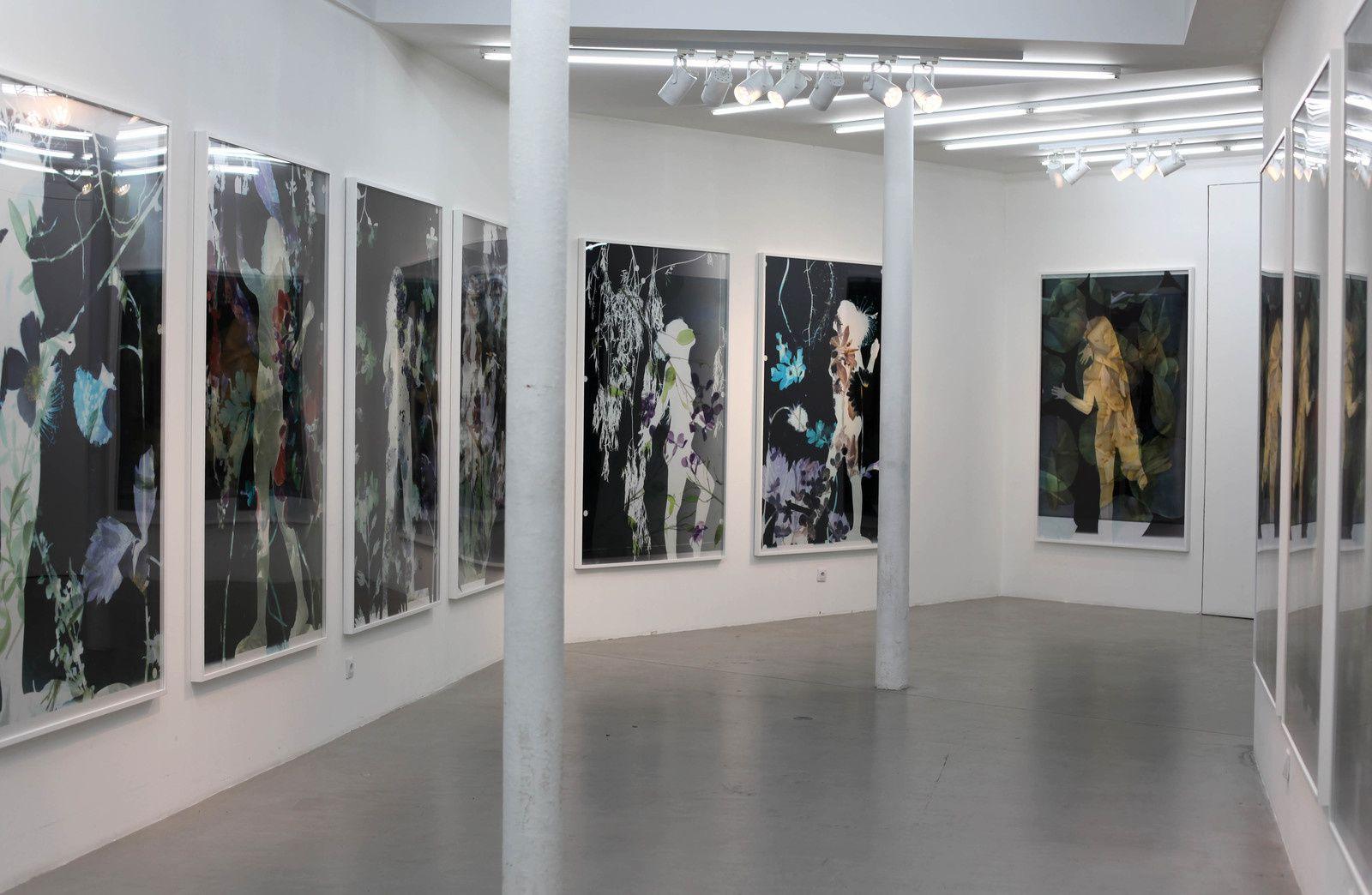 Vue de l'exposition Baptiste RABICHON - Courtesy Galerie Paris-Beijing © Photo Éric Simon
