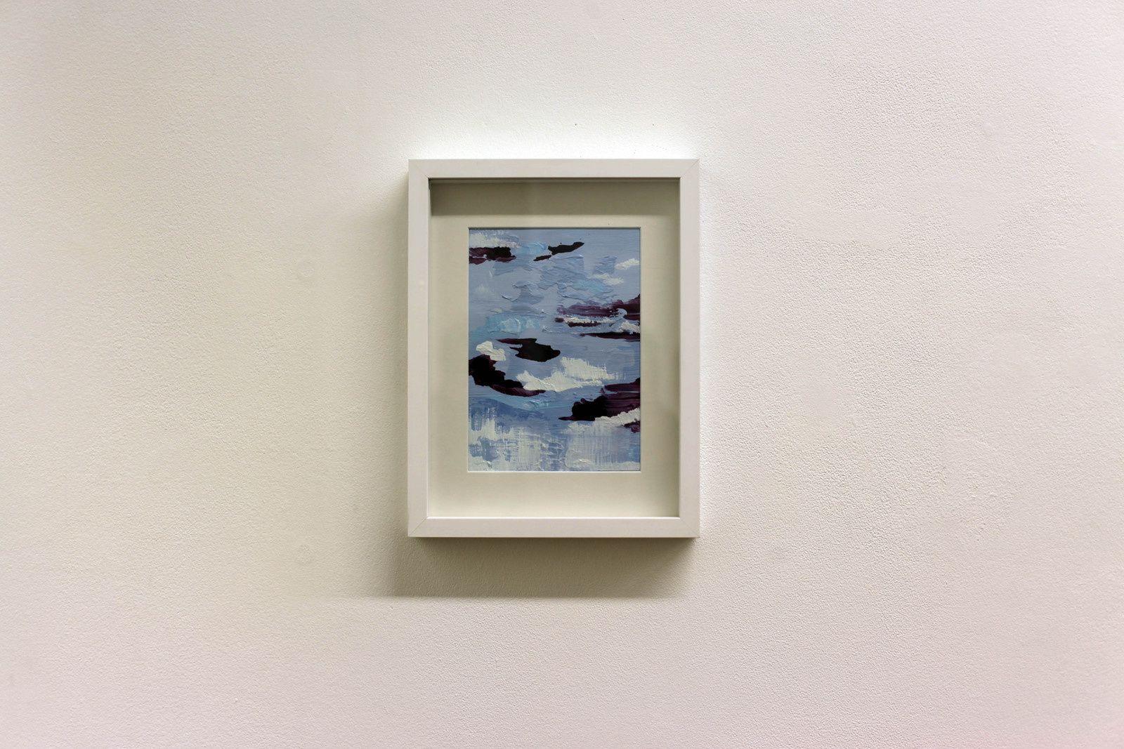 """""""Ciel violet"""", 2018 d'Audrey MATT AUBERT - Courtesy Galerie Isabelle Gounod © Photo Éric Simon"""