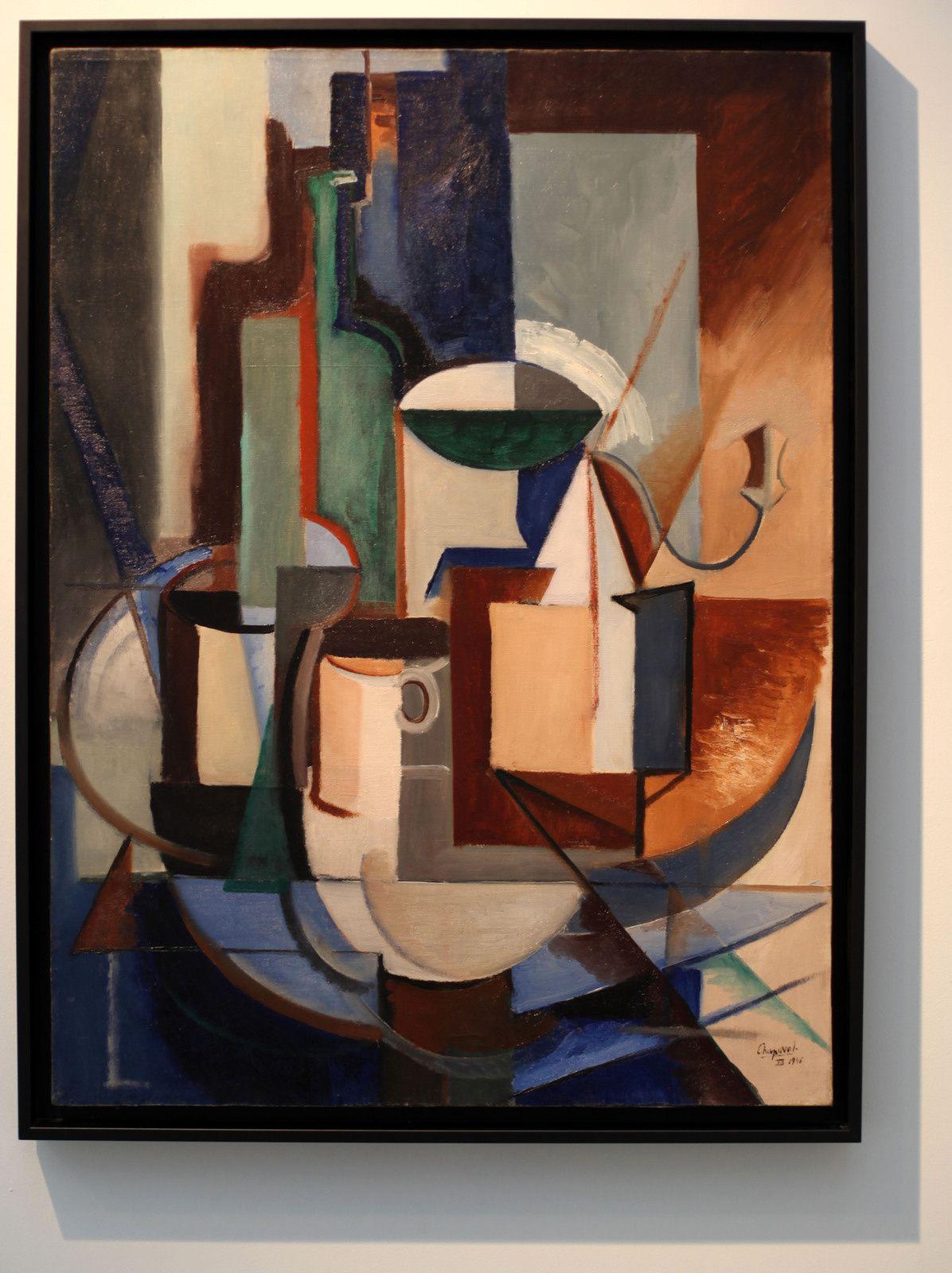 """""""Sans Titre(Nature morte au moulin a café)"""", 1946 de Youla CHAPOVAL - Courtesy Galerie Jeanne Bucher Jaeger © Photo Éric Simon"""